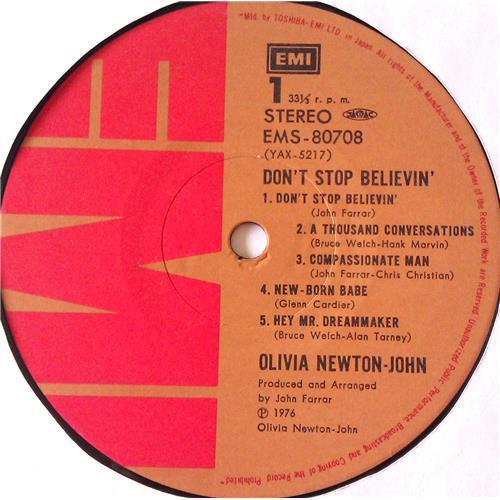 Картинка  Виниловые пластинки  Olivia Newton-John – Don't Stop Believin' / EMS-80708 в  Vinyl Play магазин LP и CD   06863 5