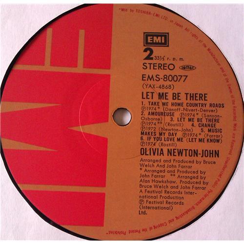 Картинка  Виниловые пластинки  Olivia Newton-John – Let Me Be There / EMS-80077 в  Vinyl Play магазин LP и CD   06800 5