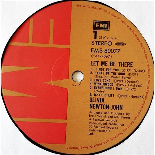 Картинка  Виниловые пластинки  Olivia Newton-John – Let Me Be There / EMS-80077 в  Vinyl Play магазин LP и CD   07687 4