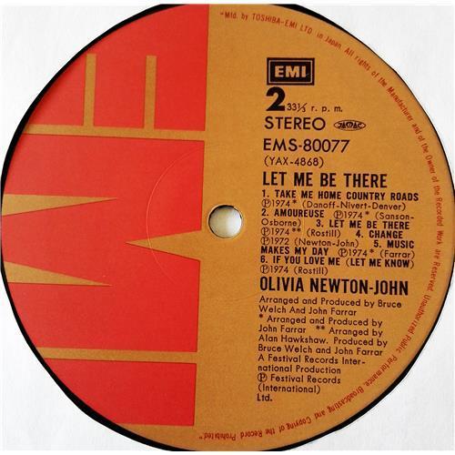 Картинка  Виниловые пластинки  Olivia Newton-John – Let Me Be There / EMS-80077 в  Vinyl Play магазин LP и CD   07687 5