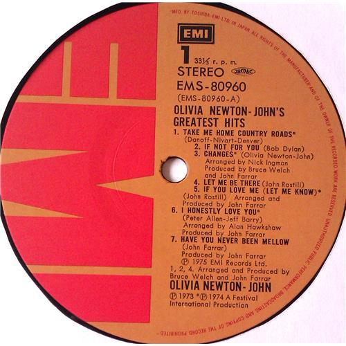 Картинка  Виниловые пластинки  Olivia Newton-John – Olivia Newton-John's Greatest Hits / EMS-80960 в  Vinyl Play магазин LP и CD   05710 6