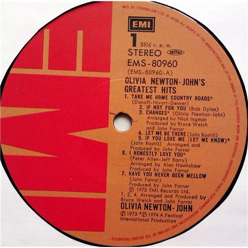 Картинка  Виниловые пластинки  Olivia Newton-John – Olivia Newton-John's Greatest Hits / EMS-80960 в  Vinyl Play магазин LP и CD   07264 5