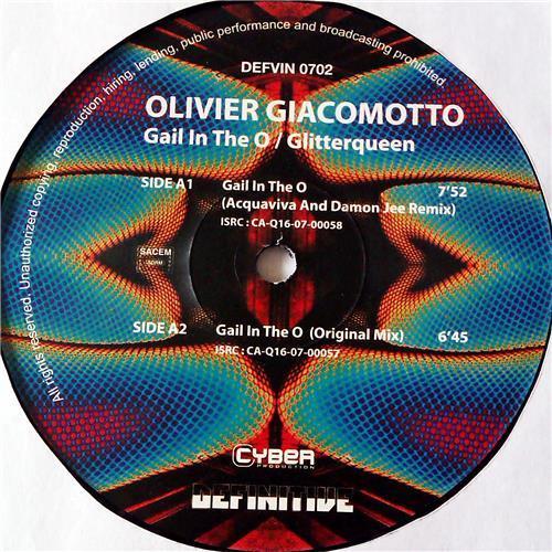 Картинка  Виниловые пластинки  Olivier Giacomotto – Gail In The O / Glitterqueen / DEFVIN 0702 в  Vinyl Play магазин LP и CD   07122 1