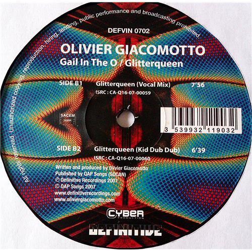 Картинка  Виниловые пластинки  Olivier Giacomotto – Gail In The O / Glitterqueen / DEFVIN 0702 в  Vinyl Play магазин LP и CD   07122 2