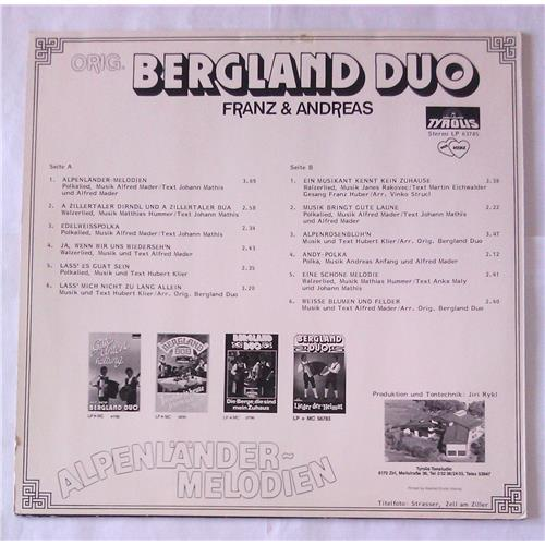 Картинка  Виниловые пластинки  Orig. Bergland Duo – Alpenlander - Melodien / 63 785 в  Vinyl Play магазин LP и CD   06686 1