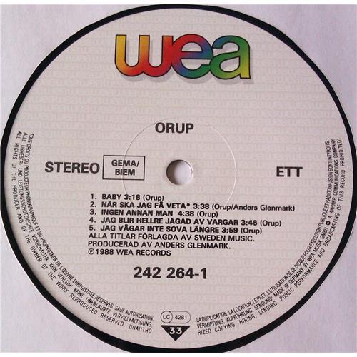 Картинка  Виниловые пластинки  Orup – Orup / 242 264-1 в  Vinyl Play магазин LP и CD   05844 4