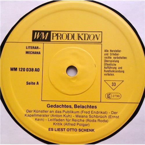 Картинка  Виниловые пластинки  Otto Schenk – Gedachtes - Belachtes / 120038 AO в  Vinyl Play магазин LP и CD   06030 2