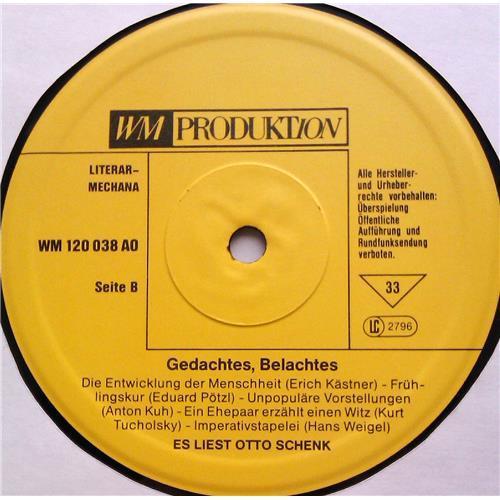 Картинка  Виниловые пластинки  Otto Schenk – Gedachtes - Belachtes / 120038 AO в  Vinyl Play магазин LP и CD   06030 3