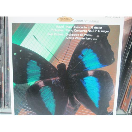 Виниловые пластинки  Ozawa – Ravel: Piano Concerto etc. / EAC-30316 в Vinyl Play магазин LP и CD  00989