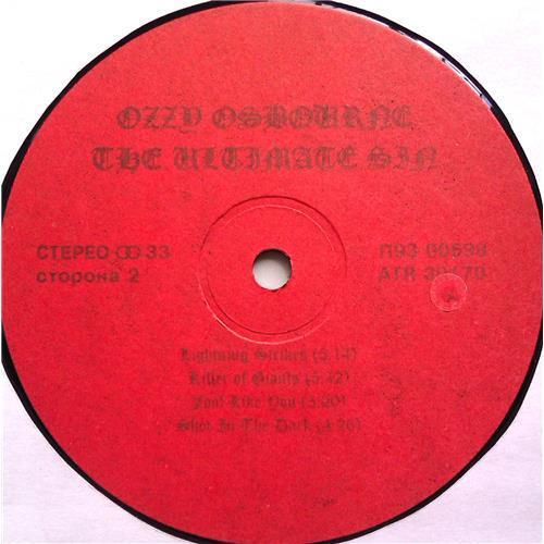 Картинка  Виниловые пластинки  Ozzy Osbourne – The Ultimate Sin / П93 00597/8 / M (С хранения) в  Vinyl Play магазин LP и CD   06628 3