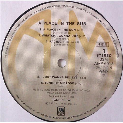 Картинка  Виниловые пластинки  Pablo Cruise – A Place In The Sun / AMP-6013 в  Vinyl Play магазин LP и CD   04463 4