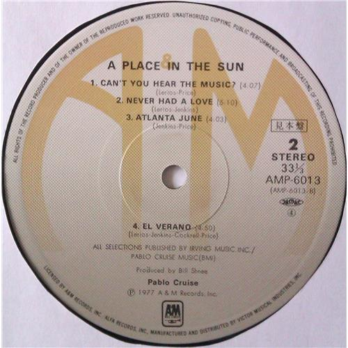 Картинка  Виниловые пластинки  Pablo Cruise – A Place In The Sun / AMP-6013 в  Vinyl Play магазин LP и CD   04463 5