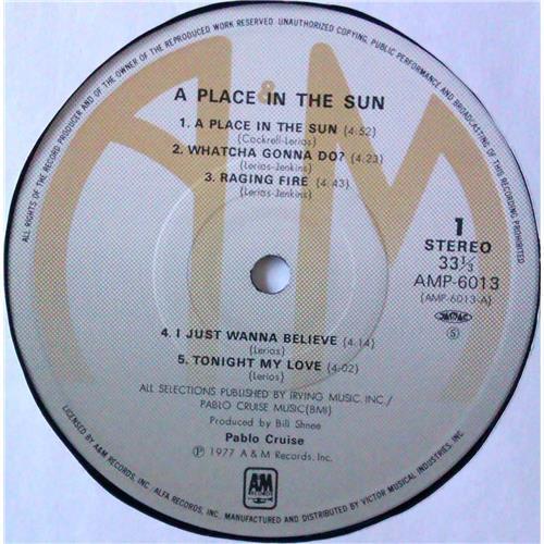 Картинка  Виниловые пластинки  Pablo Cruise – A Place In The Sun / AMP-6013 в  Vinyl Play магазин LP и CD   04783 5