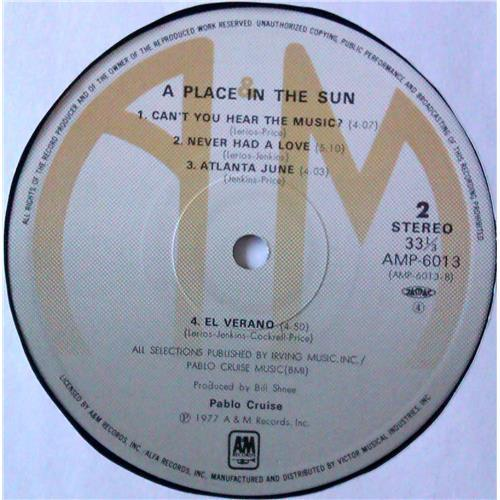 Картинка  Виниловые пластинки  Pablo Cruise – A Place In The Sun / AMP-6013 в  Vinyl Play магазин LP и CD   04783 6