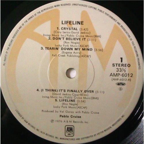 Картинка  Виниловые пластинки  Pablo Cruise – Lifeline / AMP-6012 в  Vinyl Play магазин LP и CD   04373 4