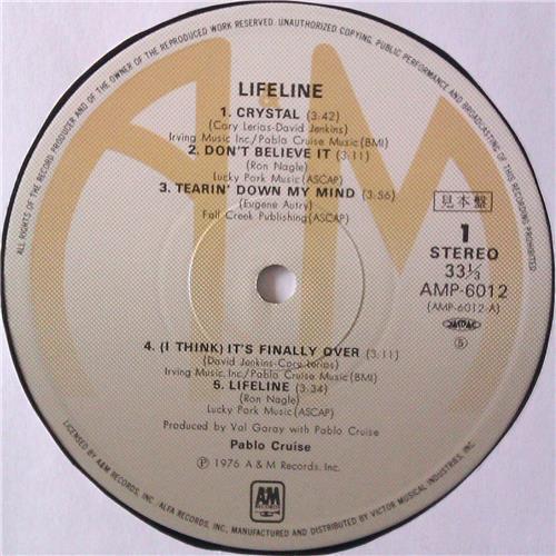 Картинка  Виниловые пластинки  Pablo Cruise – Lifeline / AMP-6012 в  Vinyl Play магазин LP и CD   04464 4