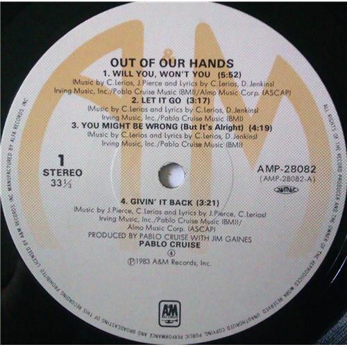 Картинка  Виниловые пластинки  Pablo Cruise – Out Of Our Hands / AMP-28082 в  Vinyl Play магазин LP и CD   04372 3