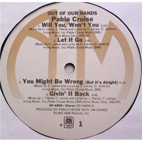 Картинка  Виниловые пластинки  Pablo Cruise – Out Of Our Hands / SP-4909 в  Vinyl Play магазин LP и CD   06214 4