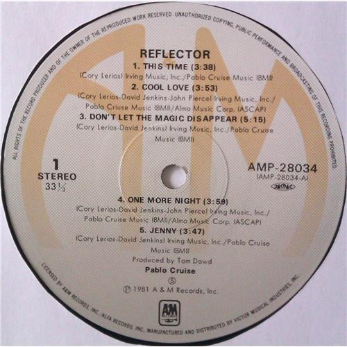 Картинка  Виниловые пластинки  Pablo Cruise – Reflector / AMP-28034 в  Vinyl Play магазин LP и CD   04465 4