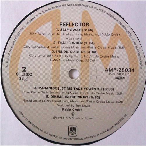 Картинка  Виниловые пластинки  Pablo Cruise – Reflector / AMP-28034 в  Vinyl Play магазин LP и CD   04465 5