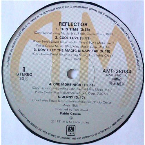 Картинка  Виниловые пластинки  Pablo Cruise – Reflector / AMP-28034 в  Vinyl Play магазин LP и CD   04784 4