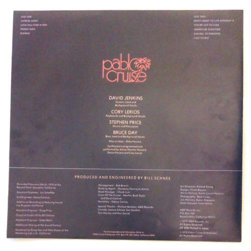 Картинка  Виниловые пластинки  Pablo Cruise – Worlds Away / GP-2084 в  Vinyl Play магазин LP и CD   04785 3
