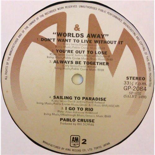 Картинка  Виниловые пластинки  Pablo Cruise – Worlds Away / GP-2084 в  Vinyl Play магазин LP и CD   04785 5