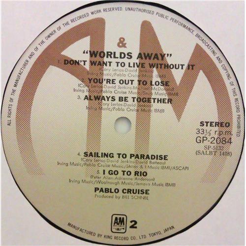 Картинка  Виниловые пластинки  Pablo Cruise – Worlds Away / GP-2084 в  Vinyl Play магазин LP и CD   04786 5