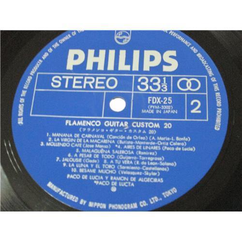 Картинка  Виниловые пластинки  Paco De Lucia, Ramon De Algeciras – Flamenco Guitar Custom 20 / FDX-25 в  Vinyl Play магазин LP и CD   04067 4