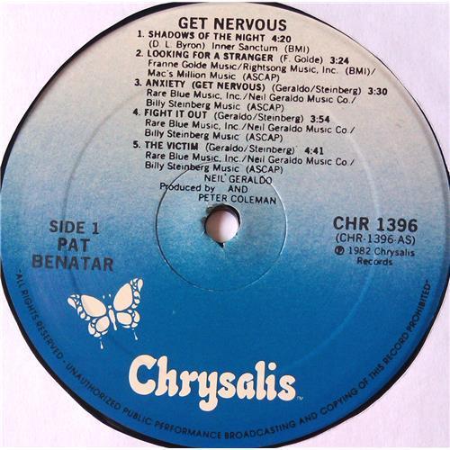 Картинка  Виниловые пластинки  Pat Benatar – Get Nervous / CHR 1396 в  Vinyl Play магазин LP и CD   05704 2