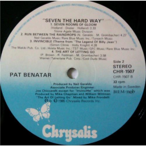 Картинка  Виниловые пластинки  Pat Benatar – Seven The Hard Way / CHR 1507 в  Vinyl Play магазин LP и CD   04387 5