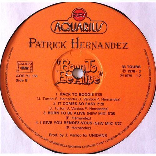 Картинка  Виниловые пластинки  Patrick Hernandez – Born To Be Alive / AQS YL 156 в  Vinyl Play магазин LP и CD   06403 3