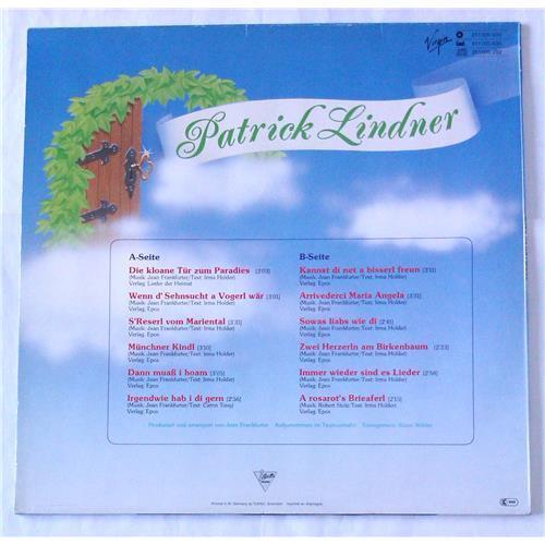 Картинка  Виниловые пластинки  Patrick Lindner – Die Kloane Tur Zum Paradies / 211 005 в  Vinyl Play магазин LP и CD   06479 1