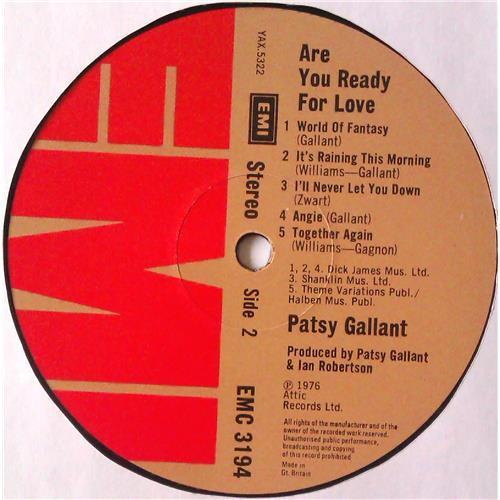 Картинка  Виниловые пластинки  Patsy Gallant – Are You Ready For Love / EMC 3194 в  Vinyl Play магазин LP и CD   04720 3