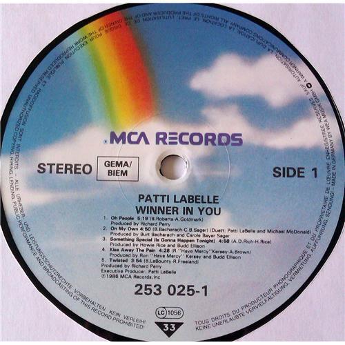 Картинка  Виниловые пластинки  Patti LaBelle – Winner In You / 253 025-1 в  Vinyl Play магазин LP и CD   06958 4