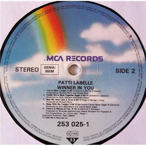 Картинка  Виниловые пластинки  Patti LaBelle – Winner In You / 253 025-1 в  Vinyl Play магазин LP и CD   06958 5