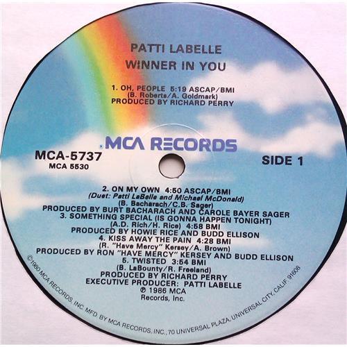 Картинка  Виниловые пластинки  Patti LaBelle – Winner In You / MCA-5737 в  Vinyl Play магазин LP и CD   06536 4