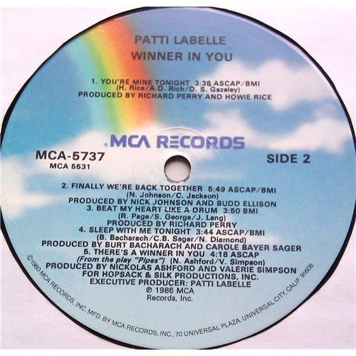 Картинка  Виниловые пластинки  Patti LaBelle – Winner In You / MCA-5737 в  Vinyl Play магазин LP и CD   06536 5