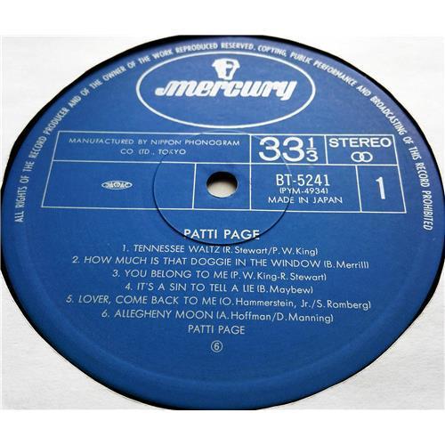 Картинка  Виниловые пластинки  Patti Page – Tennessee Waltz / BT-5241 в  Vinyl Play магазин LP и CD   07534 2