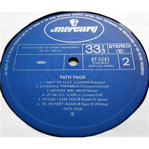 Картинка  Виниловые пластинки  Patti Page – Tennessee Waltz / BT-5241 в  Vinyl Play магазин LP и CD   07534 3