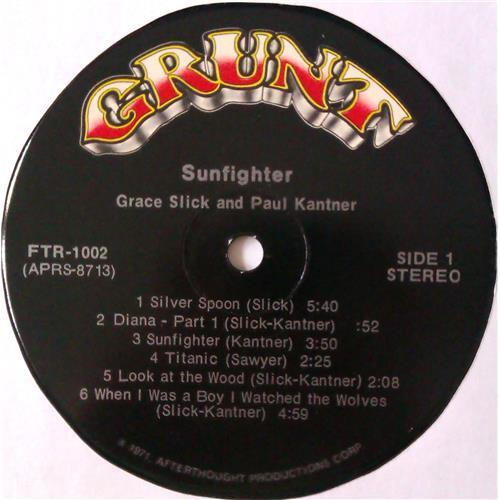 Картинка  Виниловые пластинки  Paul Kantner, Grace Slick – Sunfighter / FTR-1002 в  Vinyl Play магазин LP и CD   04556 6