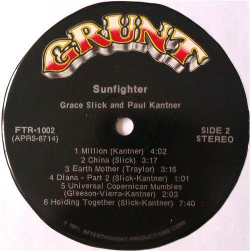 Картинка  Виниловые пластинки  Paul Kantner, Grace Slick – Sunfighter / FTR-1002 в  Vinyl Play магазин LP и CD   04556 7