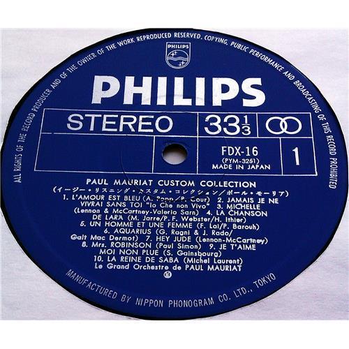 Картинка  Виниловые пластинки  Paul Mauriat – Custom Collection / FDX-16 в  Vinyl Play магазин LP и CD   07428 4