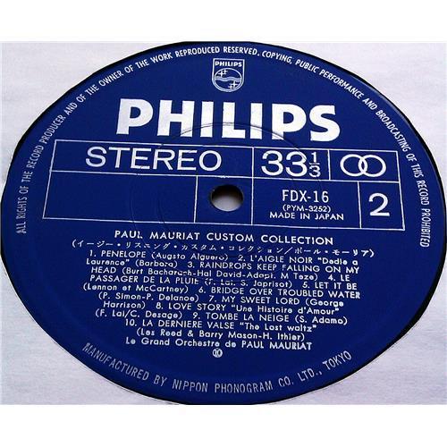 Картинка  Виниловые пластинки  Paul Mauriat – Custom Collection / FDX-16 в  Vinyl Play магазин LP и CD   07428 5