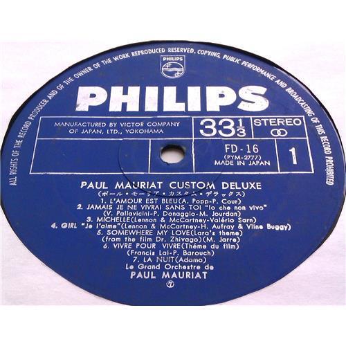 Картинка  Виниловые пластинки  Paul Mauriat – Custom Deluxe / FD-16 в  Vinyl Play магазин LP и CD   06374 2