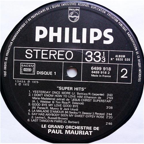 Картинка  Виниловые пластинки  Paul Mauriat – Super Hits / 6620 020 в  Vinyl Play магазин LP и CD   07430 8