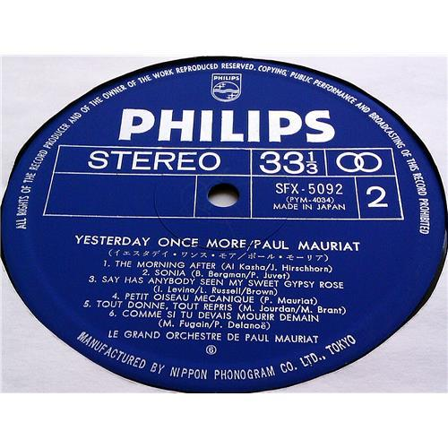 Картинка  Виниловые пластинки  Paul Mauriat – Yesterday Once More / SFX-5092 в  Vinyl Play магазин LP и CD   07426 5