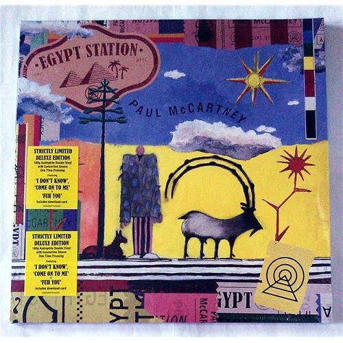Виниловые пластинки  Paul McCartney – Egypt Station / 00602567545040 / Sealed в Vinyl Play магазин LP и CD  07104