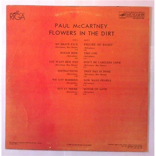 Картинка  Виниловые пластинки  Paul McCartney – Flowers In The Dirt / А60 00705 006 в  Vinyl Play магазин LP и CD   03895 1