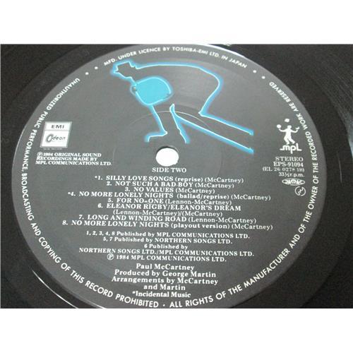 Картинка  Виниловые пластинки  Paul McCartney – Give My Regards To Broad Street / EPS-91094 в  Vinyl Play магазин LP и CD   03304 5